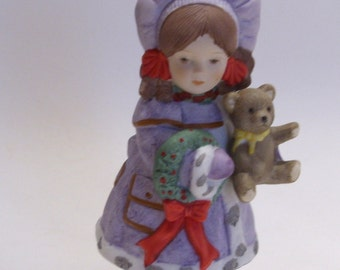 "From the Attic ""Vanessa"" Christmas Figurine by Giordano"