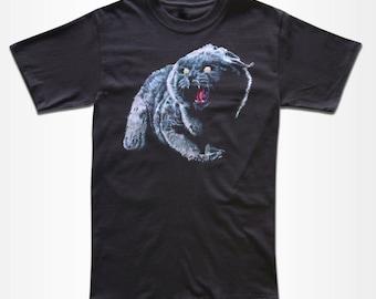 Church T Shirt - Black Cat - Graphic Tees For Men, Women & Children