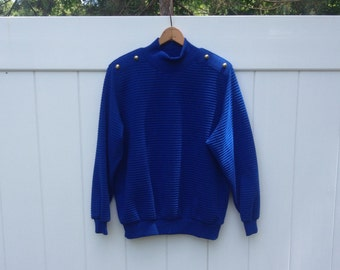 Vintage Shoulder-Button Sweater - Alfred Dunner
