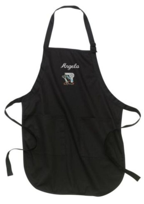 Personalized Stylist Apron Cosmetology Aprons Hair Stylist Custom Embroider Apron Gift for Hairdresser Gifts Personalized