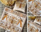 The Sacred Bee - PDF DIGITAL Cross Stitch Pattern