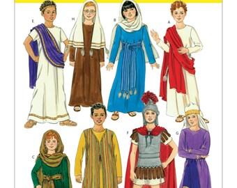 UNCUT Kid's, Biblical Costume Pattern McCalls 5905 Size M-XL  Halloween, Costume, Pageant,