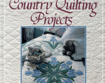 Quilting Book 50 Country Quilting Projects Hardback 1990, Margit Echols from Rodale Press