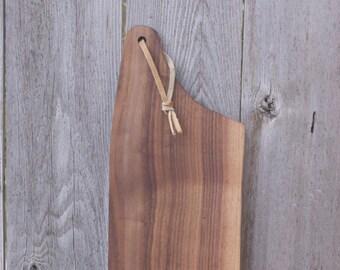 walnut cutting board, wood cutting board, organic shape, walnut, cutting board, chopping board, cheeseboard