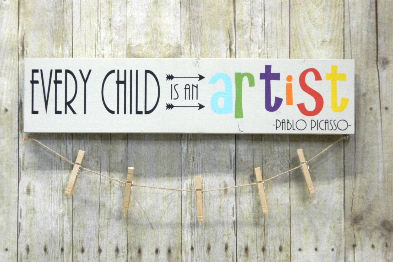 every child is an artist child u0026 39 s art display