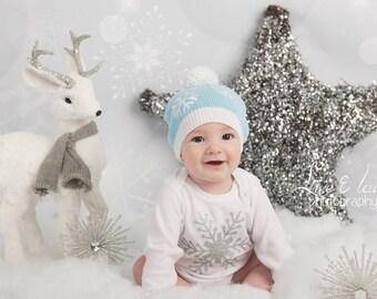 SILVER Glitter Sparkle Frozen SNOWFLAKE Baby Shirt Bodysuit T-Shirt ~ babies newborn toddler shower gift 1st birthday cake smash gold Elsa