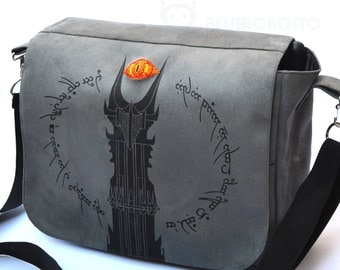 The tower of Mordor Messenger bag