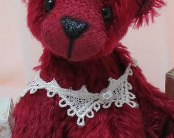 "6"" handmade artist bear CLEMENTINE by Warm Heart Bears"