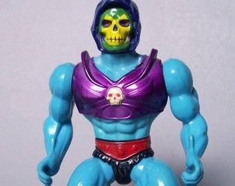 Vintage He-Man (MOTU) Terror Claws Skeletor Figure C8 Rare