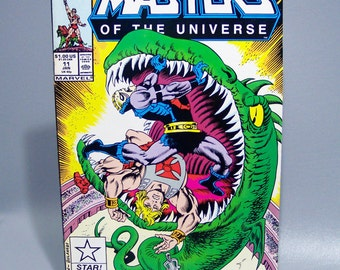 Vintage 1988 Masters of the Universe No. 11 Rare Low Count issue