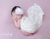 Baby Headband, Pink & White Headband, Girls Headbands, Baby Girl Headband, Newborn Headband, Baby Bows, Baby Headband, Light Pink, Baby Pink