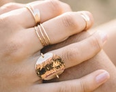 Ring, Rings, Hammered Ring, Wrap Ring, stacking rings, silver, gold,