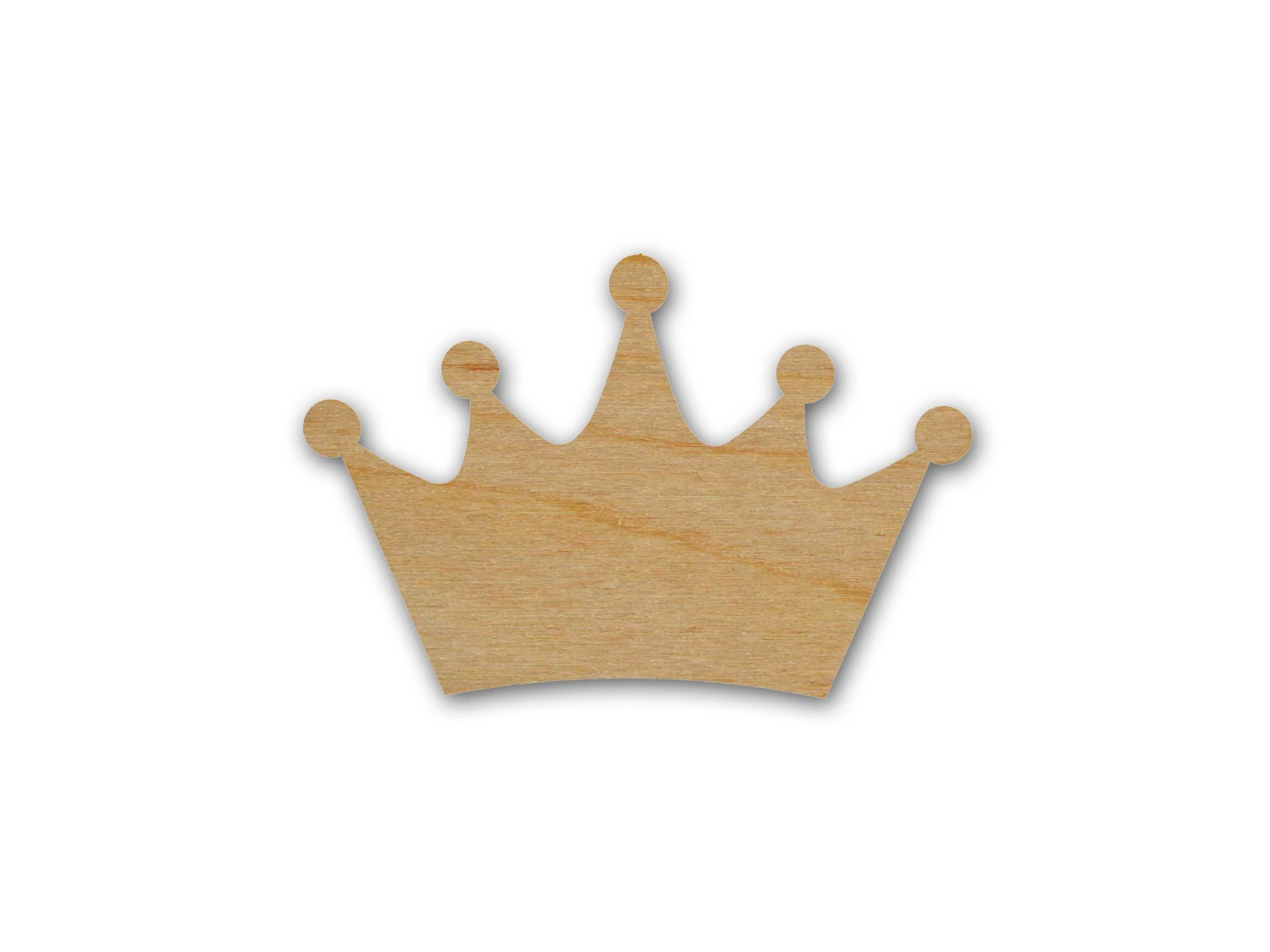 King Crown Unfinished Wood Cut Out By ArtisticCraftSupply