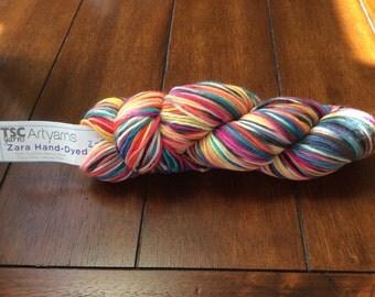 TSC ARTYARNS  Zara Hand-Dyed, Extra FINE Merino Wool, 1 skein!