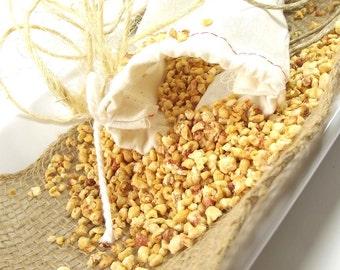 Bombshell scented Linen Sachet Bag, Potpourri Sachet, Drawer Sachet, Natural Air Freshener, Bridesmaid Gift - 3x4 Muslin Bag