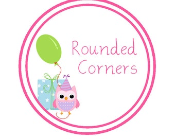 Rounded Corners - Invitations