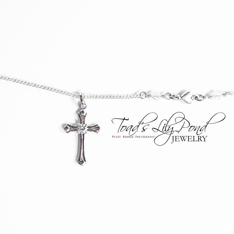 cross necklace for women silver cross necklace small cross. Black Bedroom Furniture Sets. Home Design Ideas