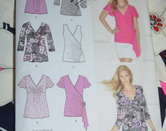 Simplicity 1916 Misses Knit Top Sewing Pattern - UNCUT - Sizes 16 - 24