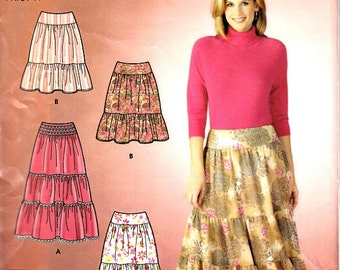 Sew Tiered Skirt