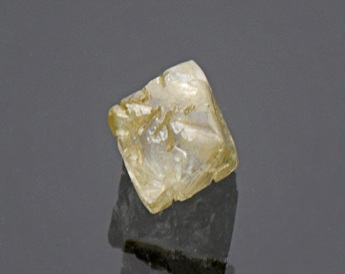 Excellent Sharp Natural Diamond Crystal from Russia 1.44 cts.