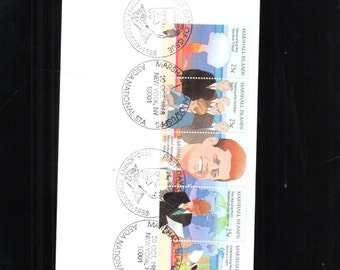 Marshall Islands John F Kennedy Commemorative First Day cover