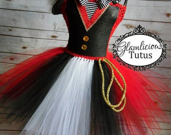 Ringmaster Tutu dress Costume | Ringmaster costume | Halloween Costume| Newborn- adult listing