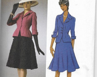 B5962 Butterick Jacket and Skirt Sewing Pattern Sizes 16-18-20-22-24