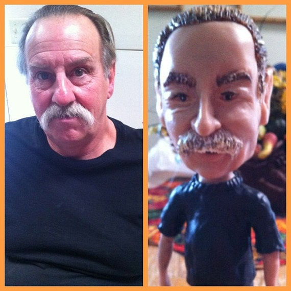 Bobble heads made to order  your head only bigger
