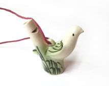 Whistle shaped Bird Calls Hunting Call Ceramic Whistle