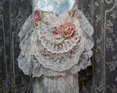 Lace Bag - Shabby Chic Vintage Lace Bag - Romantic Lace Bag - Vintage Linens and Lace Purse - Doily Purse