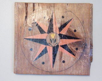 Barn Wood Shiplap Sign Hex Design Garden Art