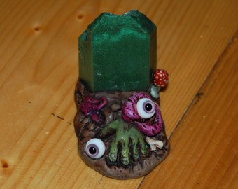 Peekaboo resin kaiju designer art toy