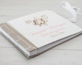 Personalized Baby Album - Baby Album - Photo Album Baby- Baby Memory Book - Baby Girl Photo Album