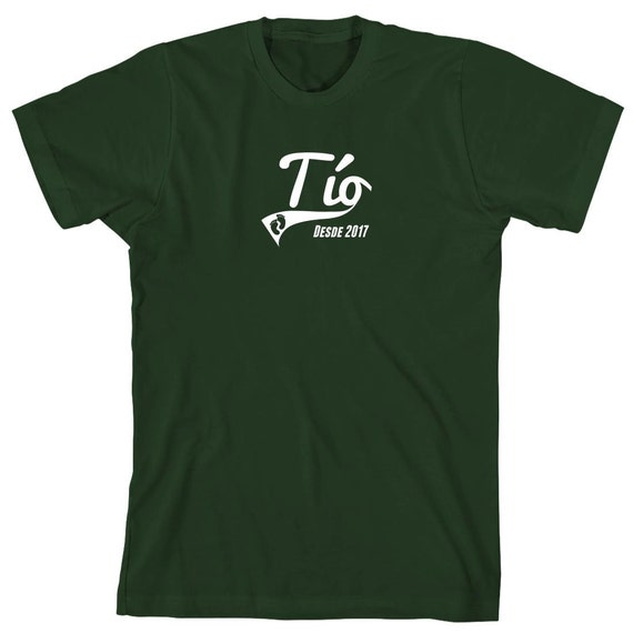 Tío Desde 2017 camiseta (Uncle Since 2017) shirt - ID: 1783