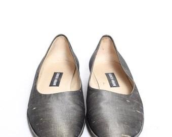 Vintage Giorgio Armani Loafers Flats Shoes