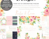 The Design Kit - Peaches and Cream. Get it at Entry Price! - Enter Our February Design Challenge and Win!