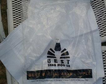 Martial Arts uniform  Best sang moo sa Taekeaondo Olympic sport Huntington Beach Korea USA size 3