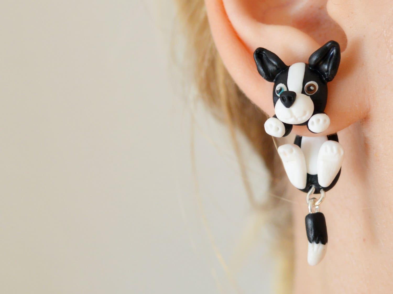 Dog Ear Plugs Dogs Ear Tunnels Animal Dangle Plug Hanging