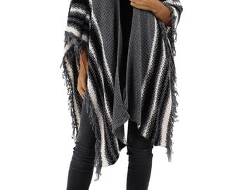 Wool and Mohair Shawl.