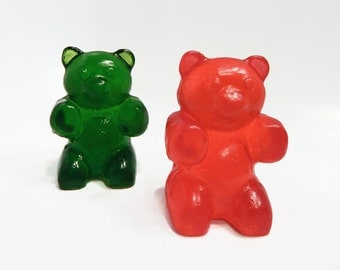 Large Gummy Bear Shaped Soap - Choose Your Color