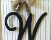 OAK's Original Initial Door Hanger- U,V,W,X,Y,Z