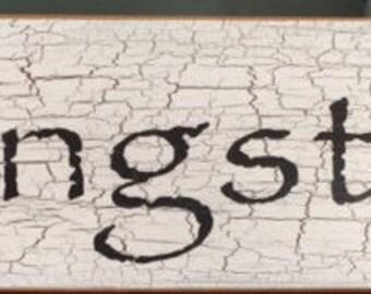 Kingston Sign