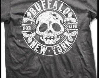 Buffalo Skull t-shirt