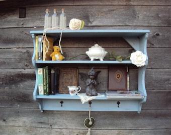 Book shelf, kitchen shelf shabby 88 x 68 x 25