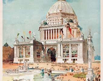 "The Youth's Companion : ""Chicago World's Fair Cover"" (1893) - Giclee Fine Art Print"