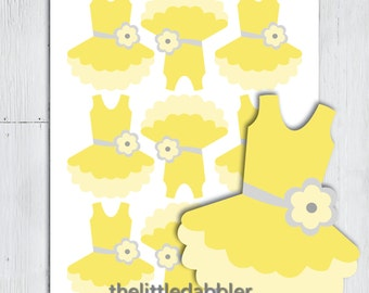 Baby Onesie and Dress Templates Baby Shower One-Piece