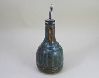 Oil dispenser  , Ceramic oil bottle, Olive oil bottle, vinegar dispenser, olive oil dispenser   Made to order