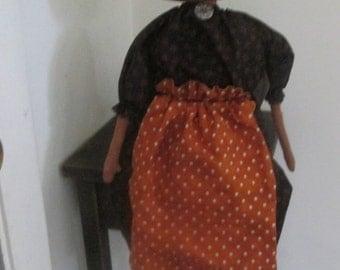 Primitive Pumpkin Girl
