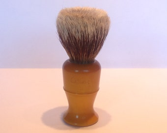 1930s Culmak No.55 Best Badger & Catalin Shaving Brush. Vintage Shaving Brush. Mens Shaving Accessories. Antique Shaving Brush.