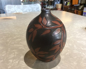 Signed Redware Pottery